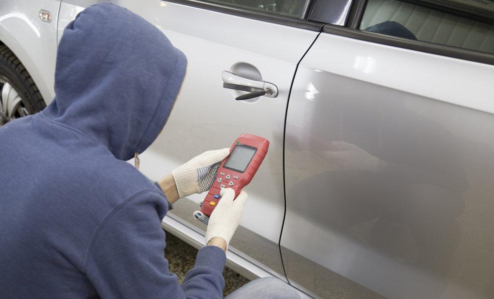 Slimme autosleutels herprogrammeren de populairste manier van auto-inbraak