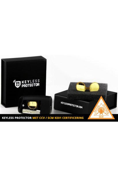 2x Keyless Protector met  CCV SCM KE01 certificaat