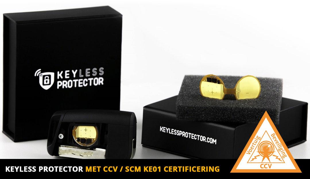 2 x Keyless Protector met CCV KE01 certificaat-1