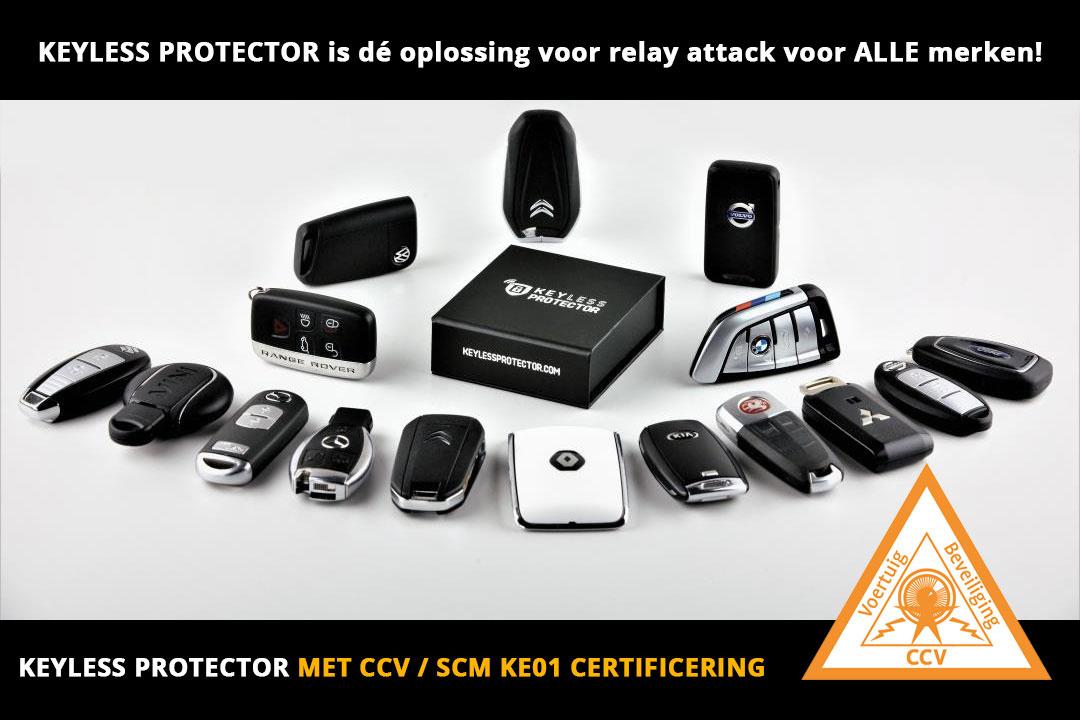2 x Keyless Protector met CCV KE01 certificaat-2