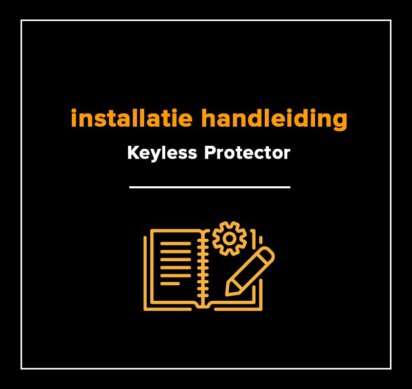 installatie handleiding keylessprotector niet CCV SCM