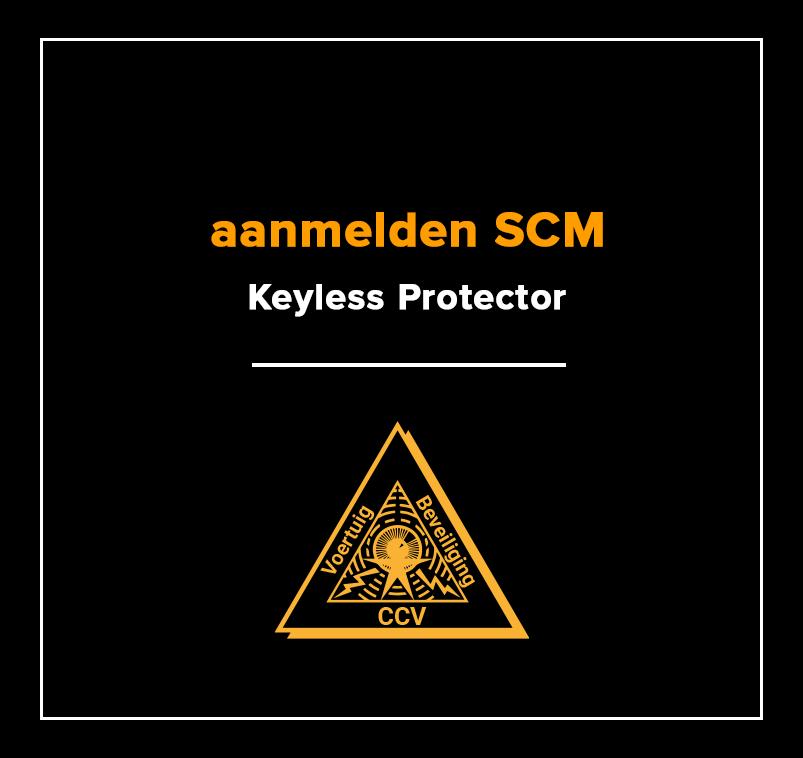 aanmelden scm kiwa keylessprotector ke01