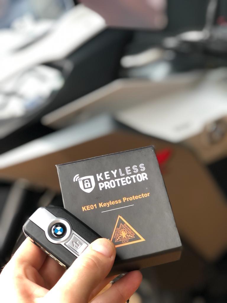 Keyless Protector KP-Motor  met  CCV SCM KE01 certificaat-2