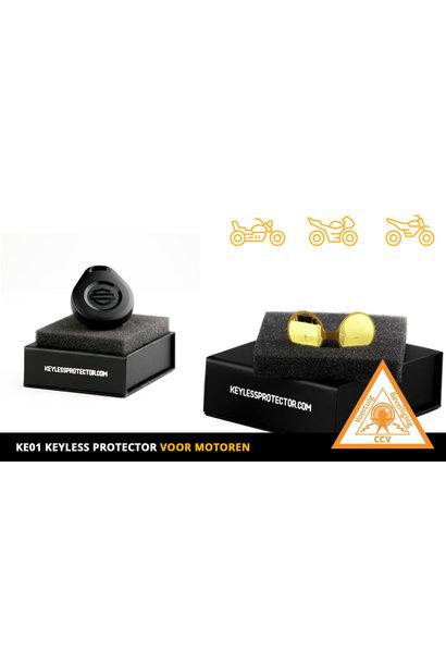 Keyless Protector KP-Motor  met  CCV SCM KE01 certificaat