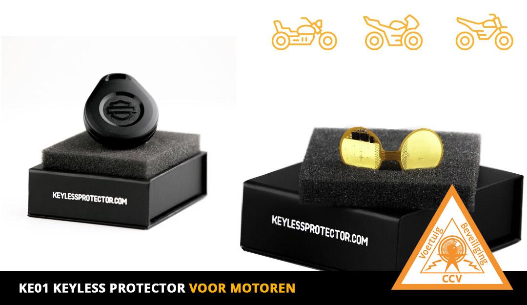 Keyless Protector KP-Motor  met  CCV SCM KE01 certificaat-1