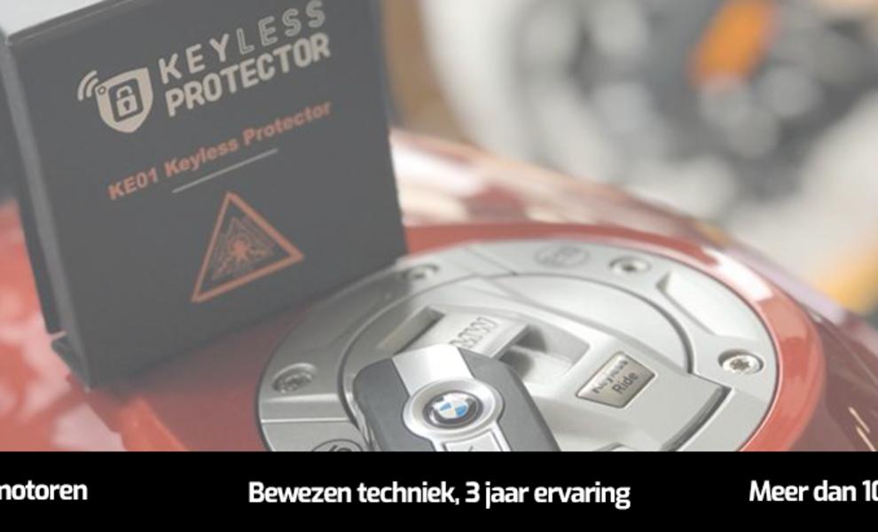 KE01 Keyless Protector voor MOTOR