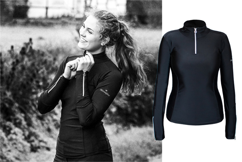 BLOGGER REVIEW: ABOUT OUR BELLA BASE LAYER! IN ENGLISH* & GERMAN*