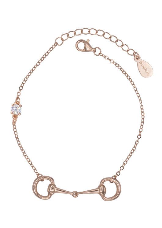 DIAMOND BIT BRACELET ROSE GOLD