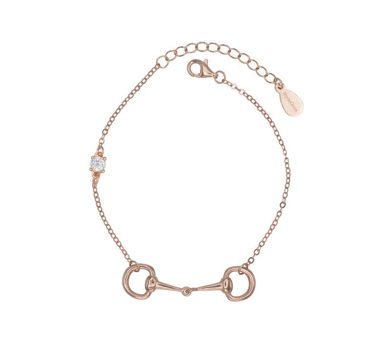 DIAMOND BIT BRACELET ROSE GOLD