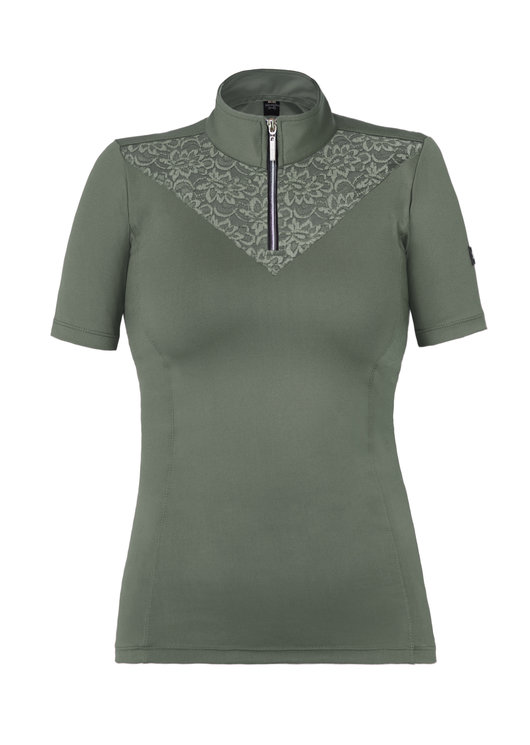 OLIVIA - MILITARY GREEN LIMITED LACE BASE LAYERS