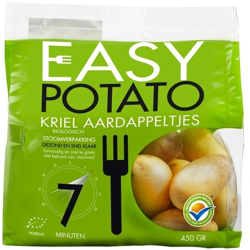 Easy Potato Aardappel Bio baby (vast) 500 gram