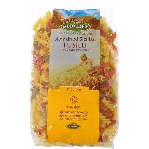 La Bio Idea Fusilli Tricolore 500 gram
