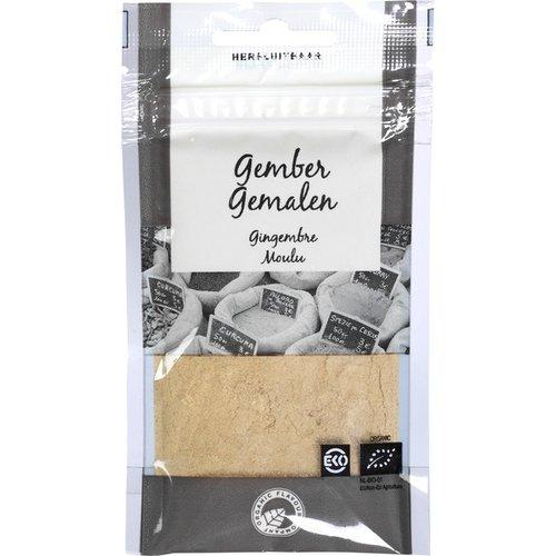 Organic Flavour Company Gember Gemalen 22 gram