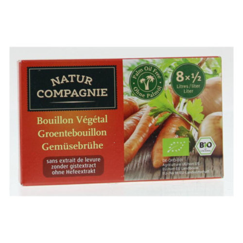 Natur Compagnie Groentebouillon Gistvrij 84 gram