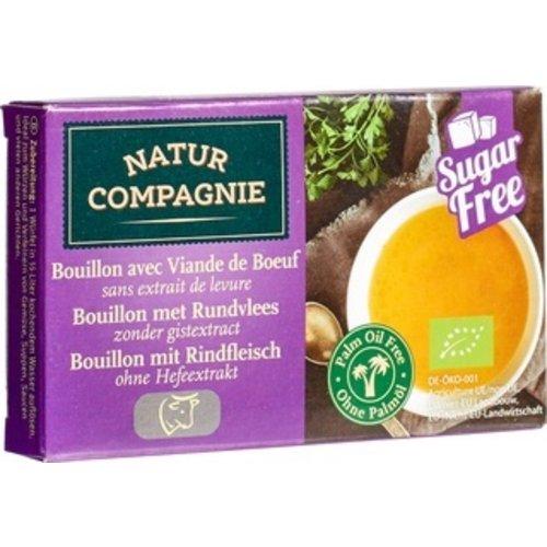 Natur Compagnie Bouillonblokjes met Rundvlees 80 gram
