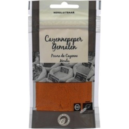 Organic Flavour Company Cayennepeper Gemalen 25 gram