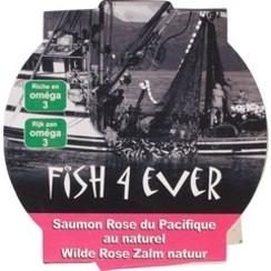 Wilde Roze Zalm in Water 160 gram