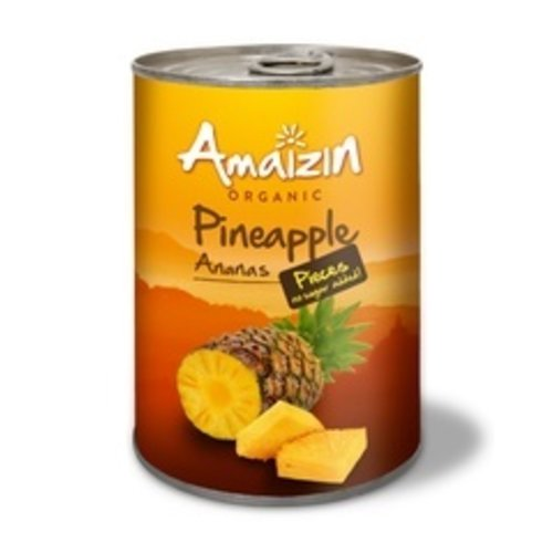 Amaizin Ananasstukjes op Sap 400 gram