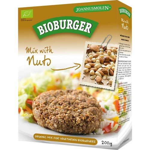 Joannusmolen Bioburger Notengehakt 200 gram