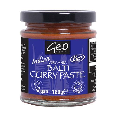 Geo Organics Balti Currypasta 180 gram