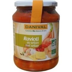 Ravioli Seitan & Basilicum 670 gram