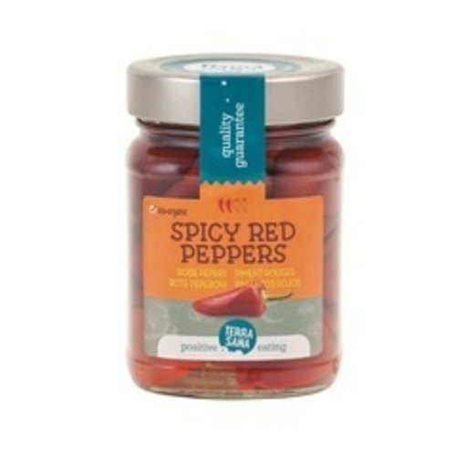 TerraSana Gevulde Rode Pepers 270 gram