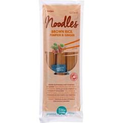 Bruine Rijst Noedels met Pompoen en Gember 250 gram