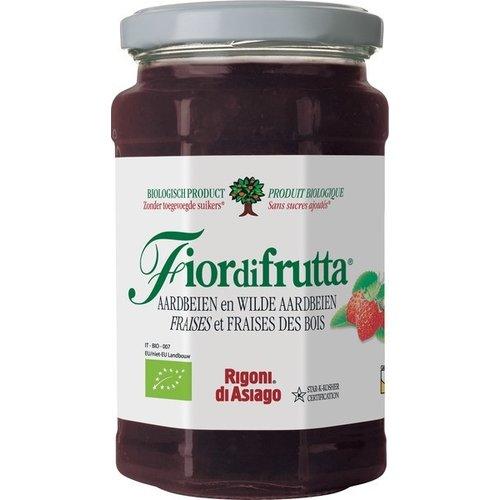 Fiordifrutta Fruitbeleg Aardbeien 250 gram