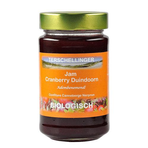 Terschellinger Cranberry Duindoorn Jam 250  gram