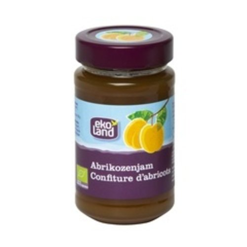 Ekoland Abrikozenjam 375 gram