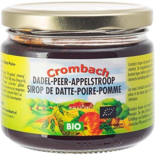 Crombach Dadel Peer Appelstroop 330 gram