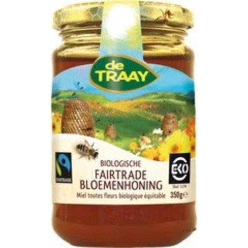 de Traay Fairtrade Bloemenhoning 350 gram