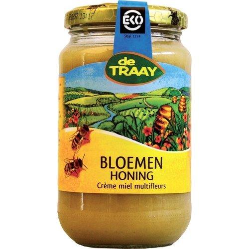 de Traay Bloemenhoning Crème 450 gram