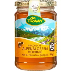 Alpenbloesem Honing 350 gram