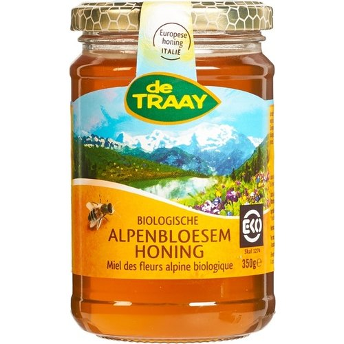 de Traay Alpenbloesem Honing 350 gram