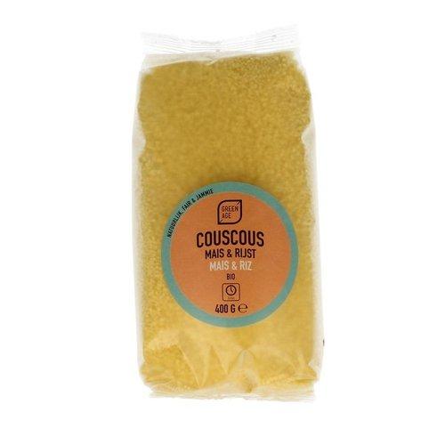 GreenAge Couscous Maïs & Rijst 400 gram