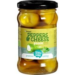 Groene Pepers met Roomkaas 270 gram