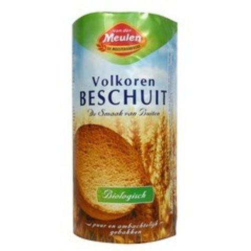 Van Der Meulen Beschuit Volkoren 125 gram