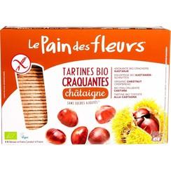 Krokante Crackers Kastanja 300 gram