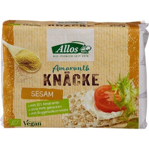 Allos Amaranth Sesam Knäckebröd 250 gram