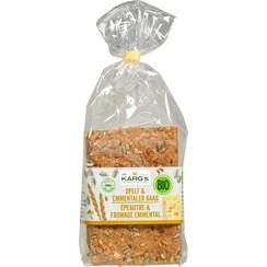 Crackers Spelt & Kaas 200 gram