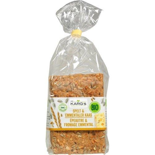 Dr. Karg's Crackers Spelt & Kaas 200 gram