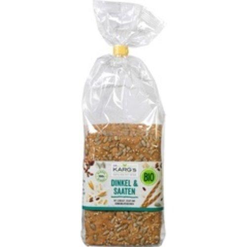 Dr. Karg's Crackers Spelt & Zaden 200 gram