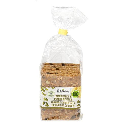 Dr. Karg's Cracker Kaas & Pompoenpit 200 gram