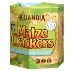 Matze Crackers Volkoren 100 gram