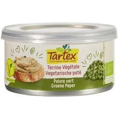 Vegetarische Paté Groene Peper 125 gram