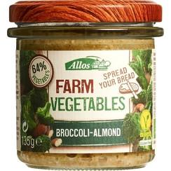 Groentespread Broccoli Amandel 135 gram