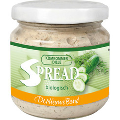 Groentespread Komkommer Dille 180 gram