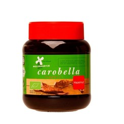 Carobe Pasta Hazelnoot 350 gram