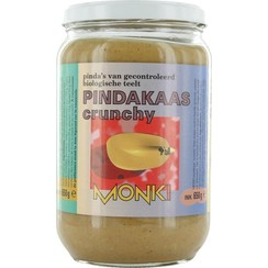Pindakaas Crunchy met Zeezout 650 gram